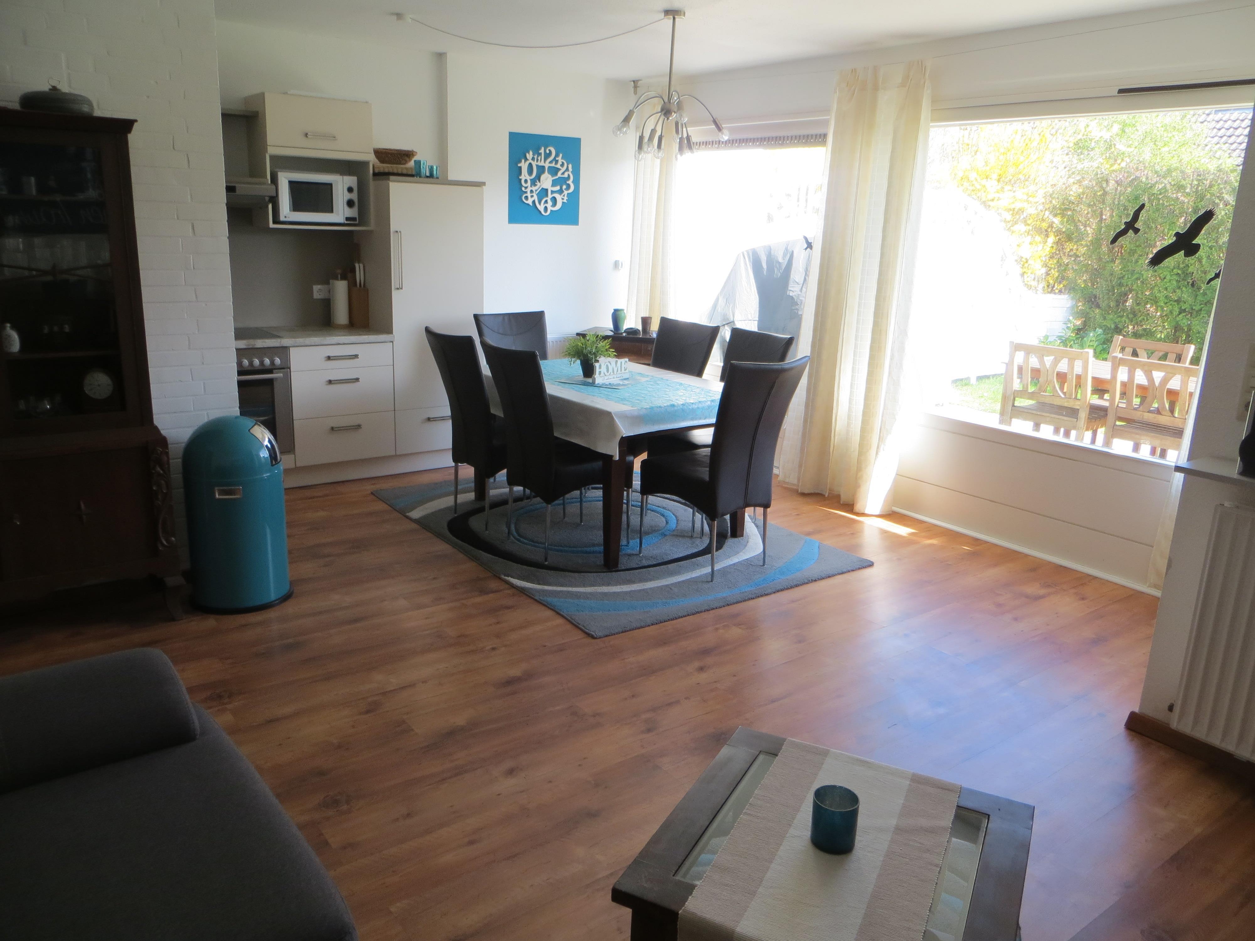 Wohnzimmer esszimmer und kuche in einem ihr traumhaus ideen - Moderne kuche mit wohnzimmer ...